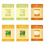 Essence Sheet Mask Aritaum Treatment Mask Brightening - Coenzyme - Snail Essence Face Facial Mask Package 6pcs - Korean Cosmetic Facial Beauty