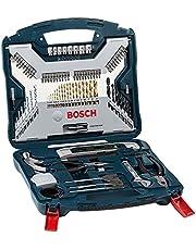 Kit de pontas e brocas em titânio Bosch X-Line com 103 peças
