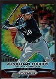 Jonathan Lucroy 2015 Panini Prizm Tie Dyed Prizms #90 Mint /50 Baseball Brewers MLB