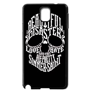 HXYHTY Skull Art 4 Phone Case For Samsung Galaxy note 3 N9000 [Pattern-4]