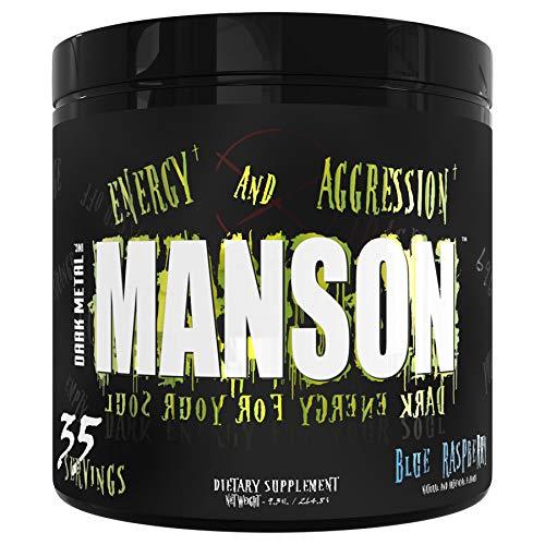 Dark Metal Manson, Blue Raspberry, 0.75 Pound
