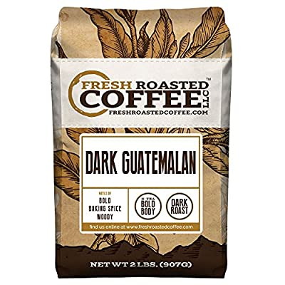 Dark Guatemalan, Whole Bean Coffee, Fresh Roasted Coffee LLC (2 lb.)