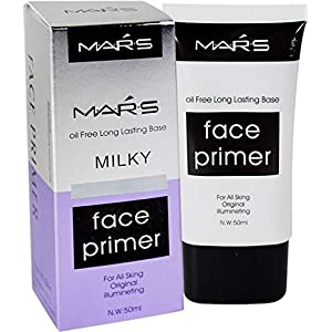 Mars Oil Free Long Lasting Milky Face Primer 50 Ml For All Skin Types