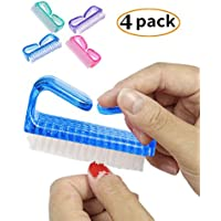 Handle Nail Brush Fingernail Brush Cleaner Hand Scrub Cleaning Brush for Toes