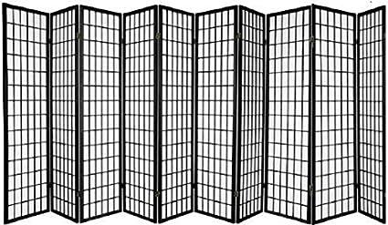 Amazoncom Panel Shoji Screen Room Divider 3 10 Panel 10 panel