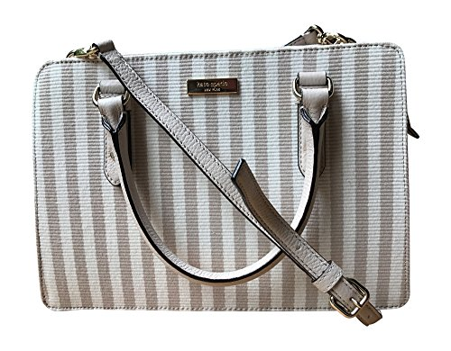 Kate Spade New York Lise Mulberry Street Shoulderbag Handbag, Mulberry Street Fabric, Cotton Ottoman Stripe by Kate Spade New York