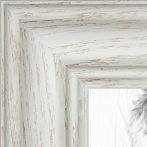 ArtToFrames 19x30 inch Off White Wash on Ash Wood Picture Frame, 2WOM0151-59504-475-19x30 (X 19 30 Frame)
