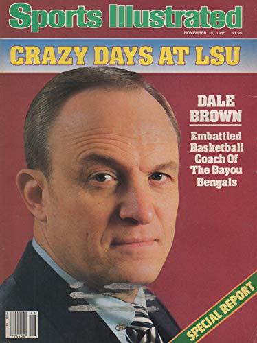 Sports Illustrated November 18 1985 Dale Brown Bayou Bengals Basketball Coach
