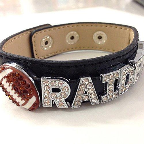 『2年保証』 Oakland RaidersまたはPersonized Your Own NFLフットボールチーム Oakland Your/ Pickチーム/ギフトfor Her Football/ Football Mom/スポーツファン/ Footballジュエリー B013XGDI2O, 携帯販売のモバイルステーション:4e3433d8 --- movellplanejado.com.br