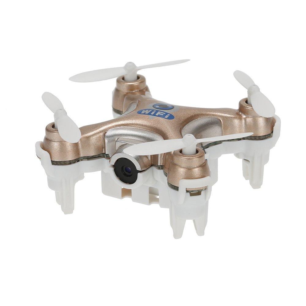 JIMI Original Cheerson CX-10W 4CH 6-Axis Gyro Wifi FPV Drone RTF Mini RC Quadcopter with 0.3MP Camera Pocket Drone