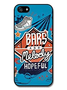 AMAF ? Accessories Bars and Melody Hopeful Album Cover Collage case for iPhone 5 5S