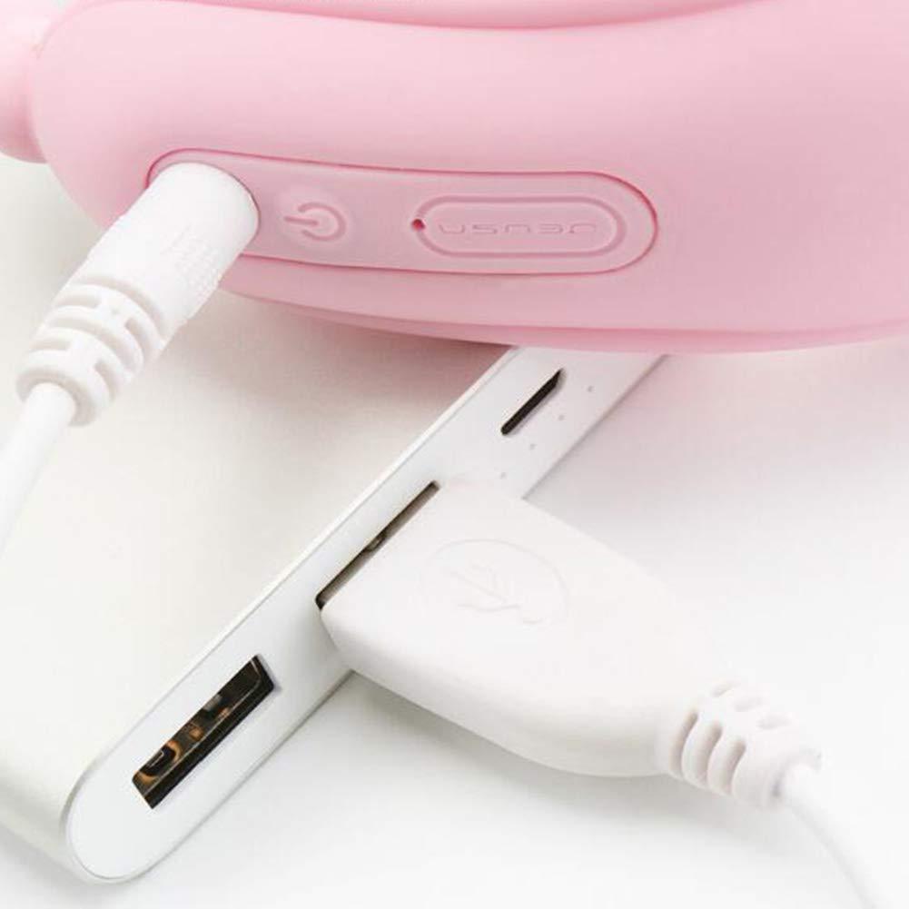 Ambm Multi-Velocidades Multi-Velocidades Ambm Y Multimedias USB Masturbación Cargada Vibrador Vibrador De Mariposa Teledirigido Usable,Pink b89887