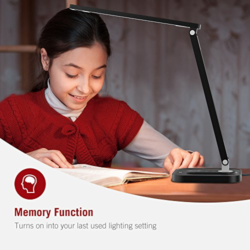 TaoTronics-LED-Desk-Lamp-with-USB-Charging-Port-2700-6500K-5-Color-Temperatures-5-Brightness-Levels-Soft-Night-Light-Mode-1-Hour-Timer-12W-Black