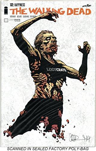 The Walking Dead #132 Lootcrate October 2014 Exclusive Variant by Charlie Adlard