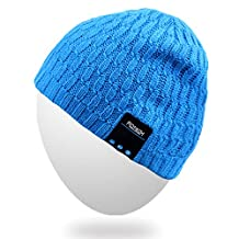 Bluetooth Beanie Hat,Rotibox Winter Outdoor Premium Knit Cap with Wireless Stereo Headphone Headset Earphone Speaker Mic Hands Free for Iphone Samsung Android Cell Phones,Best New Year Christmas Gifts