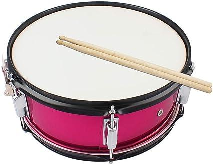 El tambor Rose Red percusión instrumento adecuado for bandas principales de la banda de viento: Amazon.es: Instrumentos musicales