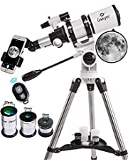 Gskyer Telescope, 80mm AZ Space Astronomical Refractor Telescope, German Technology Scope