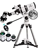 Best Computerized Telescopes - Gskyer Telescope, 80mm AZ Space Astronomical Refractor Telescope Review