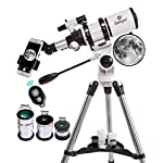 Gskyer Telescope 80mm – Astronomical Refractor Telescope with Amazing German Technology