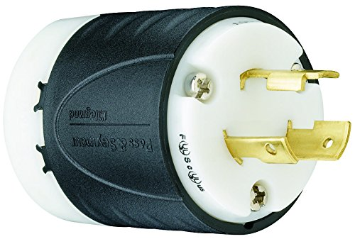 Pass & Seymour L520P Turn Lock 20A 125 Volt, Armor Locking Device Plug by Pass & Seymour/Legrand