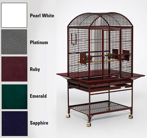 Chiquita Dometop Bird Cage Color: Ruby, My Pet Supplies