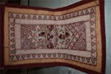 India Wall Hanging Beaded Vintage Sari Patchwork Tapestry Throw 113
