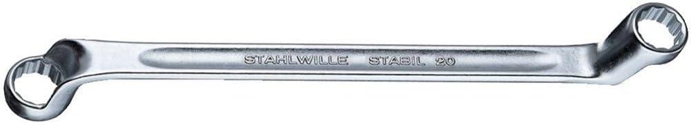 Stahlwille 17 X 19 Doppelringschl/üssel 20 17x19 mm
