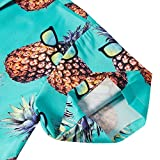 TUONROAD Mens Youth Funny Prints Tropical Beach