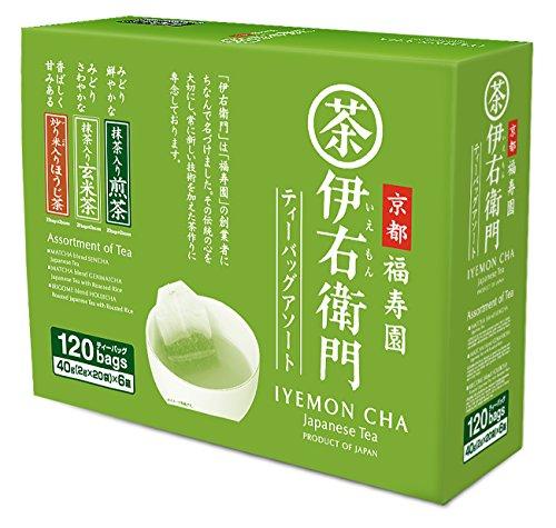 Iyemon CHA Assorted Tea Bags 120p