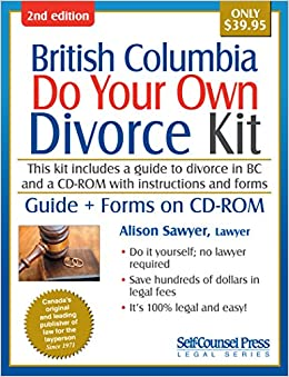 Do your own divorce kit british columbia guide download kit do your own divorce kit british columbia guide download kit alison sawyer 9781770402409 books amazon solutioingenieria Gallery