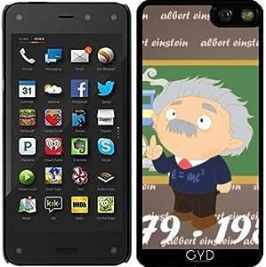 Funda para Fire Phone 4,7'' - Albert Einstein by Los dibujos de Alapapaju