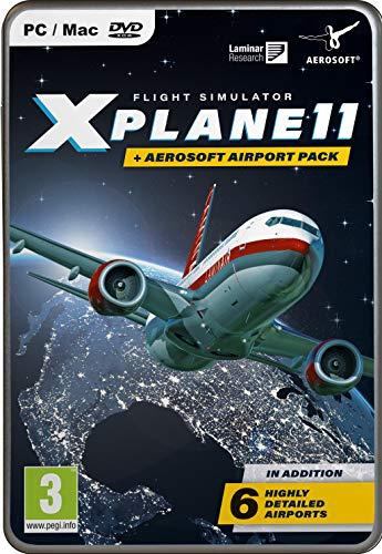 X Plane 11 Global with Aerosoft 6 Airport Collection PC - Flight Pc Sim