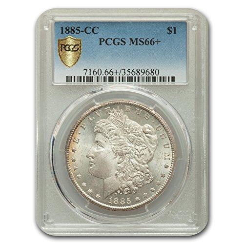 1885 CC Morgan Dollar MS-66+ Plus PCGS $1 MS-66 PCGS