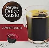 Nescafé – Dolce Gusto – Americano Coffee Pods 16 Drinks – 160g (Case of 3)