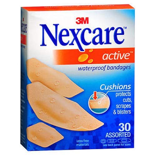 3m Nxcare Bandages Asst Size 30ct