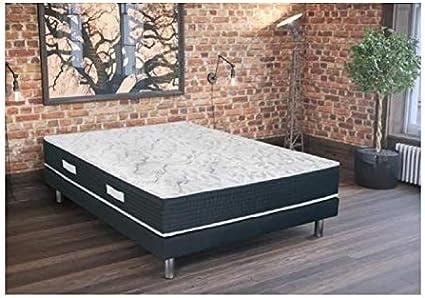 Palacio conjunto colchón + somier madera maciza 160 x 200 ...