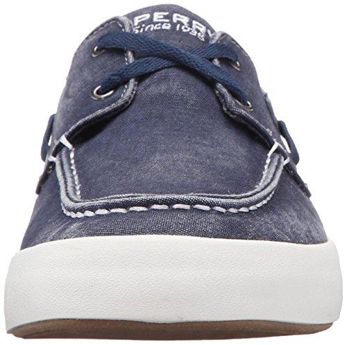 Sperry Top-sider Mens Wahoo 2-eye Mode Sneaker Navy