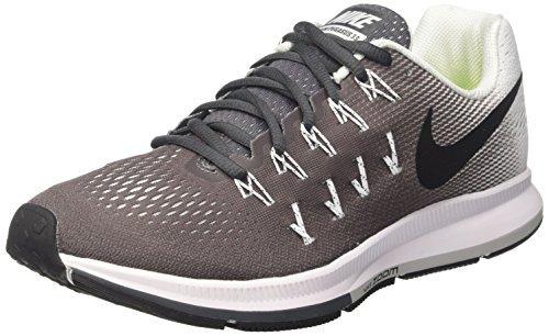 6edc063c710e Galleon - Nike Air Zoom Pegasus 33 Dark Grey Black White Womens Running  Shoes