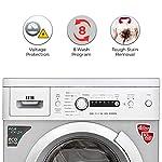 IFB 6 kg 5 Star Fully-Automatic Front Loading Washing Machine (Diva Aqua SX, Silver, Inbuilt Heater, Aqua Energie water…