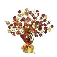 Accesorio del partido de la pieza central Gleam 'N Burst de Leaves Fall (1 cuenta) (1 /Pkg)