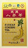 Korean Ginseng Tea in Wood Case 0.10oz(3g) x 100 Packets