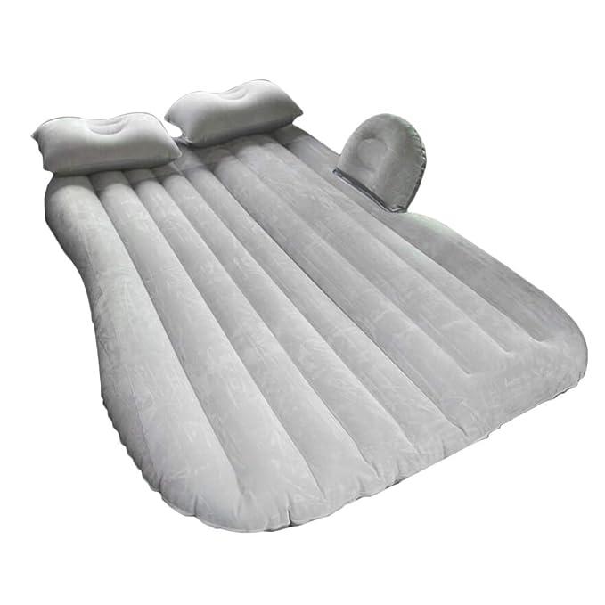 BQLZR - Colchón hinchable para acampada, color gris: Amazon ...