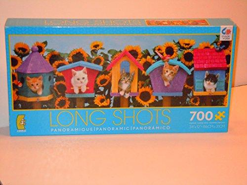 (Long Shots 700 Pc. Panoramic Puzzle)