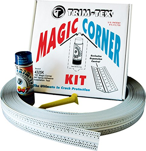 (Trim-Tex Magic Corner Kit for Drywall Inside Corners - Eliminates Cracking)