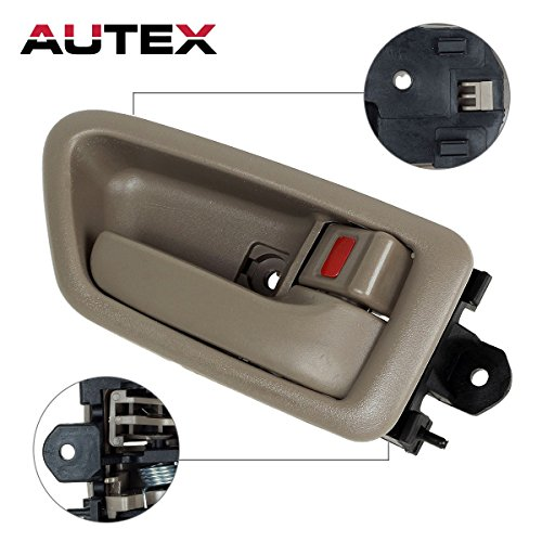 /Rear Right Passenger Side Compatible with 1997 1998 1999 2000 2001 Toyota Camry Door Handle 91005, 91008 69278-33020-E0, 6927833020E0 ()