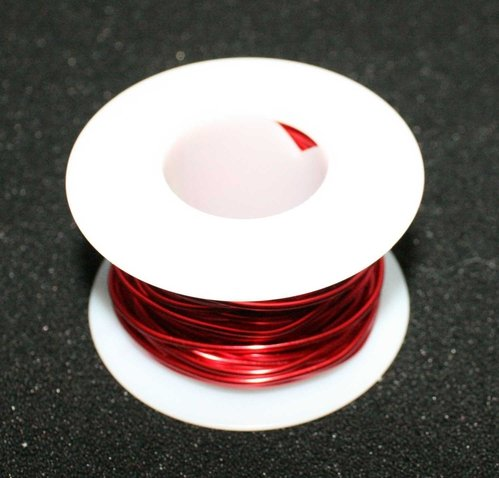 26 Gauge Enamel Coated Magnet Wire - 1/4lb Spool