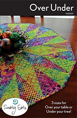Over Under Tree Skirt or Table Topper Pattern by Swirly Girls - 3 Sizes - SGD029