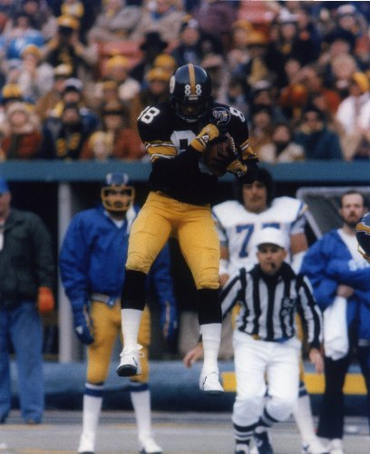 LYNN SWANN PITTSBURGH STEELERS 8X10 SPORTS ACTION PHOTO (G-2)