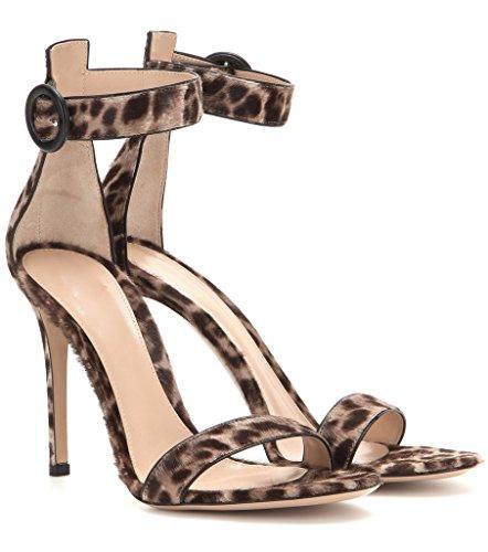 elashe - Correa para el tobillo Mujer leopardo
