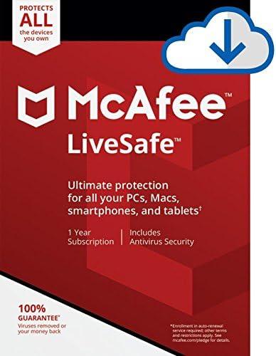 McAfee LiveSafe 2020 Discount Coupon Code
